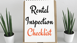 How to perform the best rental inspection?