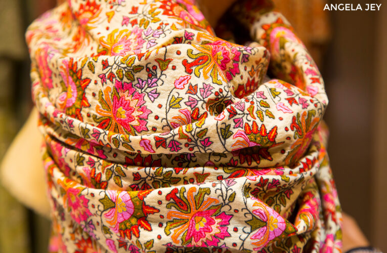 Four types of Embroideries for Kashmiri Shawls